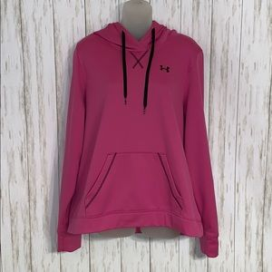 Size XL Under Armour Hot Pink Hoodie